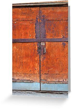 Rusted door by novikovaicon