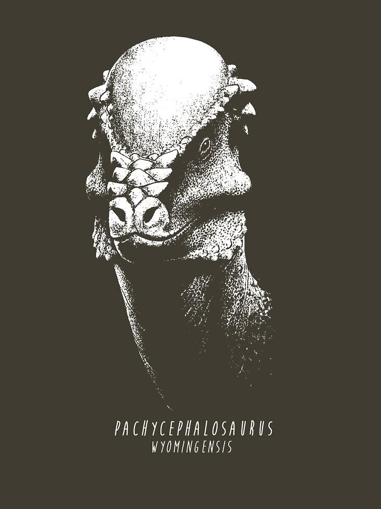 Pachycephalosaurus by FredWierum