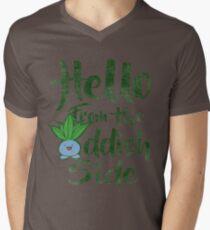 Hello 2 Mens V-Neck T-Shirt