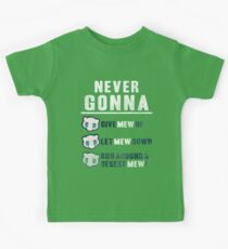 Never Gonna Give Kids Tee