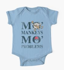 Mo Mankeys Mo Problems One Piece - Short Sleeve