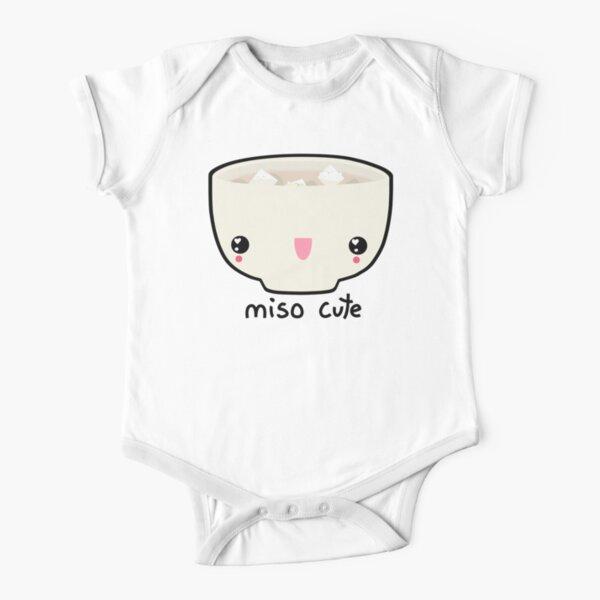 Miso Cute Short Sleeve Baby One-Piece