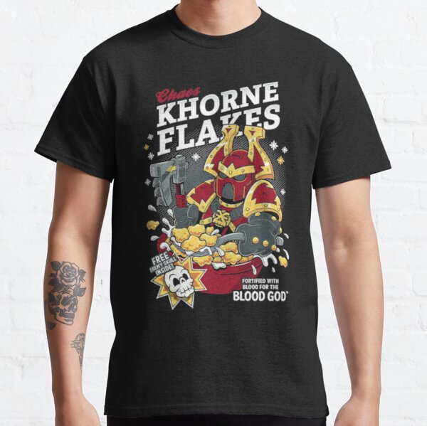 Chaos Khorne Flakes T-Shirt Essential T-Shirt Classic T-Shirt