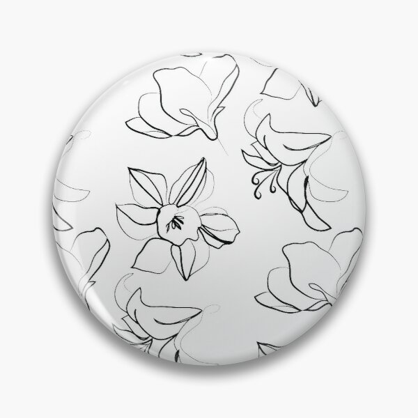 Flowers Pin