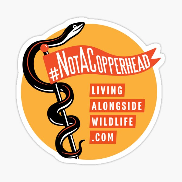 Not A Copperhead Sticker