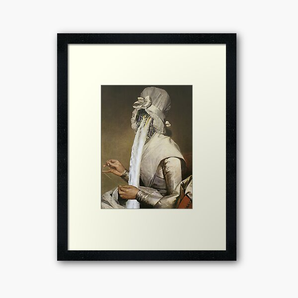 Cry your eyes out Framed Art Print