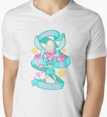 Fight like a PEARL V-Neck T-Shirt