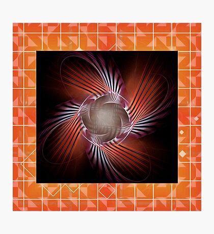 Autumn Colors Pinwheel Photographic Print