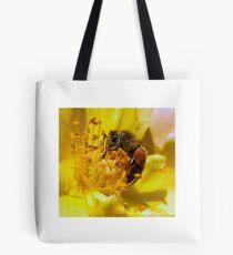 Bumble Bee Tote Bag - White Tote Bag