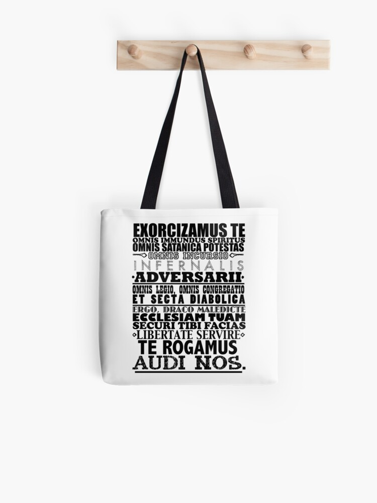 Exorcism Chant | Tote Bag