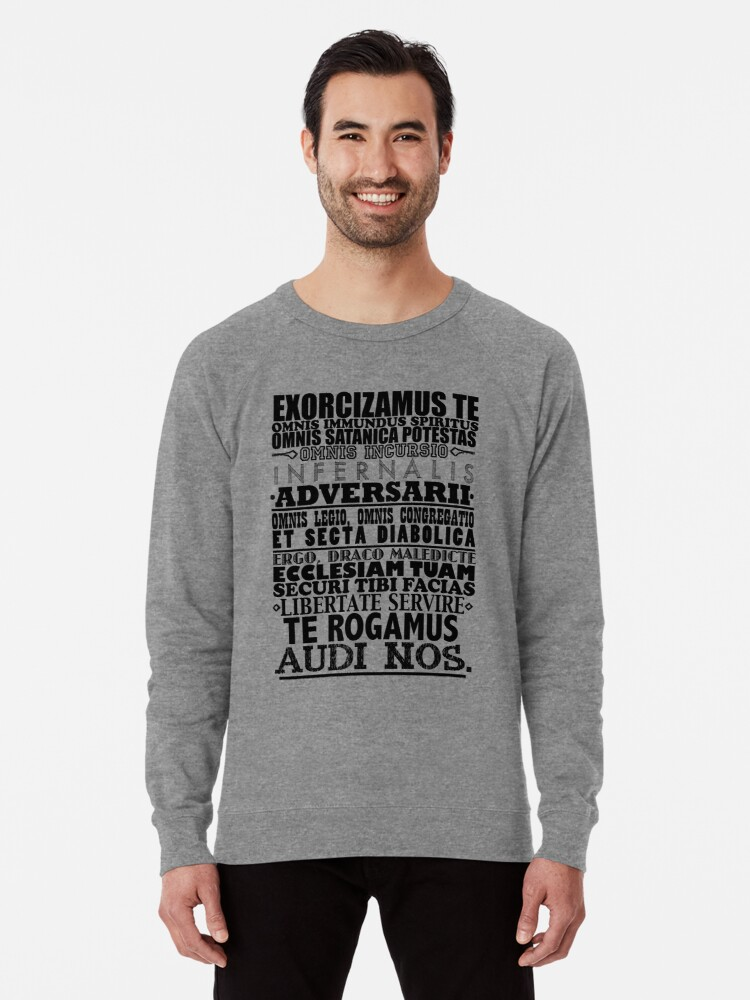 'Exorcism Chant' Lightweight Sweatshirt by Shadowmere