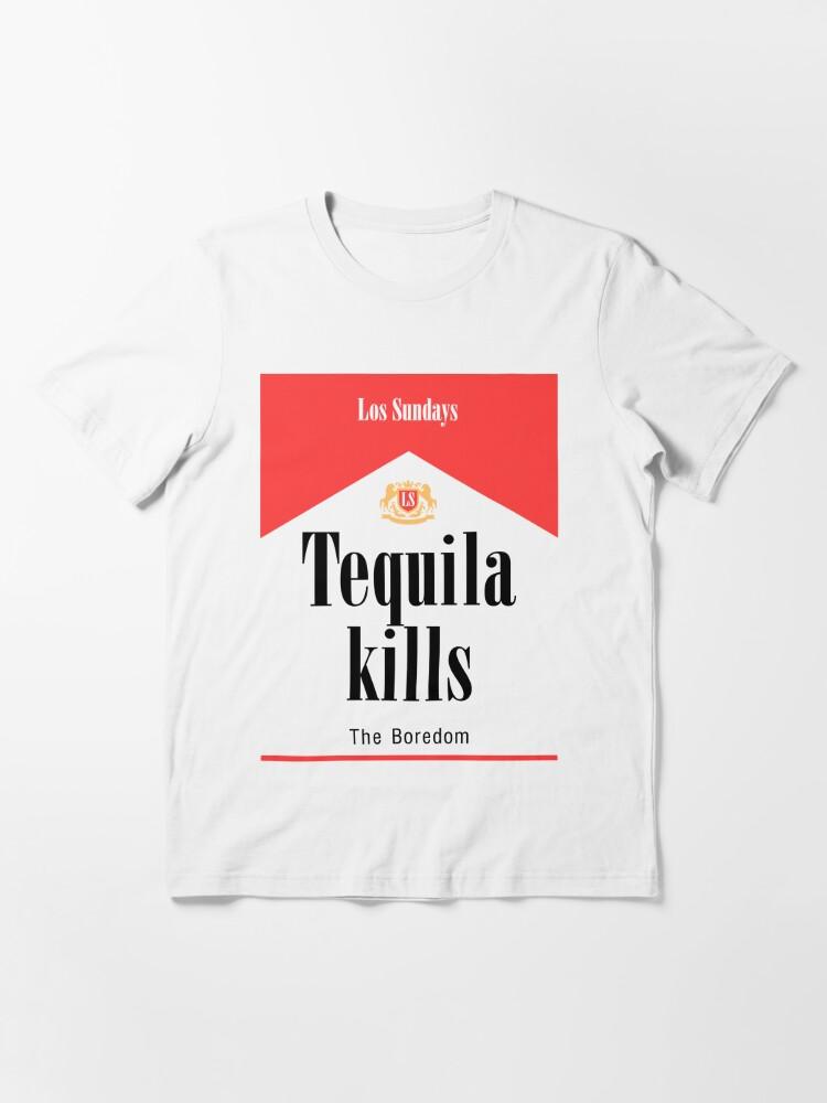 Alternate view of Tequila Kills Essential T-Shirt