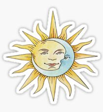 The Romance of the Sun and Moon Sticker