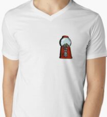 bubble gum machine Mens V-Neck T-Shirt