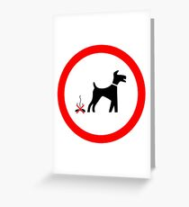 I LOVE MY DOGS_27 Greeting Card