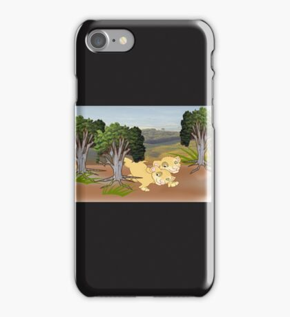 On the look Out for Mum (2013 Views) iPhone Case/Skin