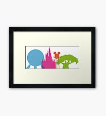 The Magic Icons Framed Print