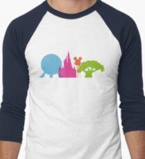 The Magic Icons Men's Baseball ¾ T-Shirt