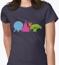 The Magic Icons Womens Fitted T-Shirt