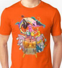 Ancient Psychic Tandem War Elephant  · Adventure Time  Unisex T-Shirt