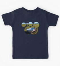 Outdoor pool | conceptual photography Kids Tee