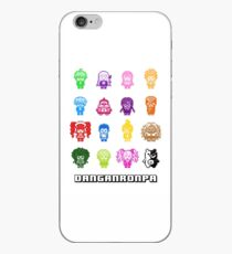 Pixelated Despair iPhone Case