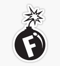 F -BOMB Sticker