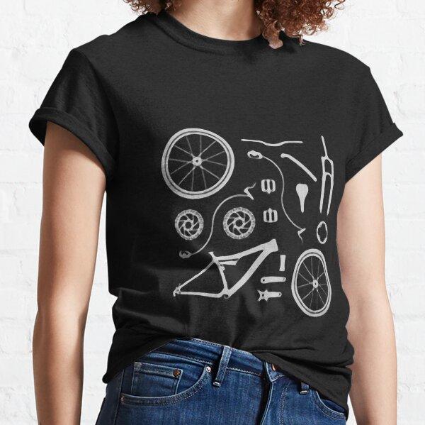 Bike Exploded, Bike Parts Full Suspension Airfix Classic T-Shirt