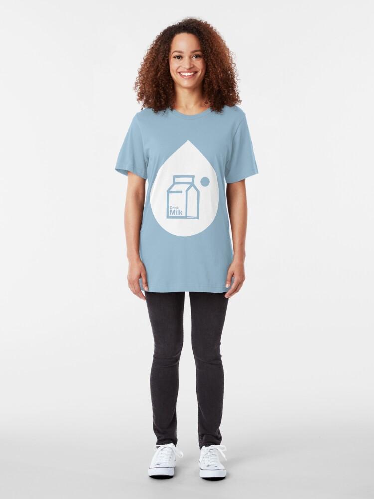 Alternate view of Milk Slim Fit T-Shirt