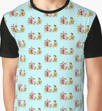 all familly Fred Flintstone Graphic T-Shirt