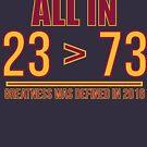 23 ist größer als 73 von kjanedesigns