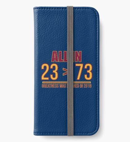 23 ist größer als 73 iPhone Flip-Case