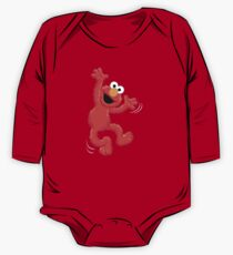 Elmo Happy One Piece - Long Sleeve