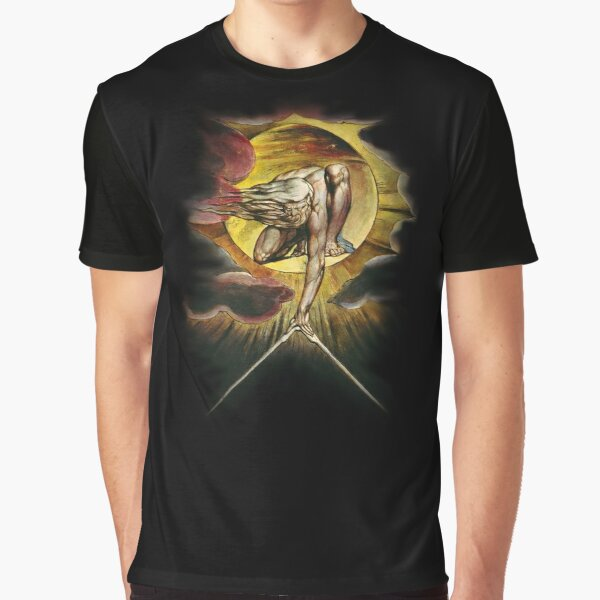 William Blake: The Ancient of Days Graphic T-Shirt