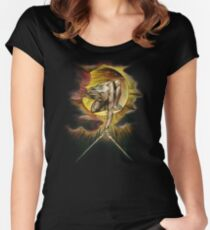 William Blake: The Ancient of Days Women's Fitted Scoop T-Shirt