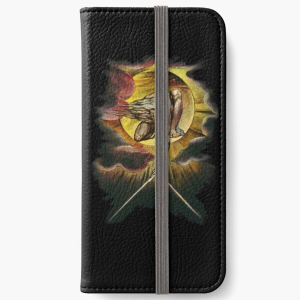William Blake: The Ancient of Days iPhone Wallet