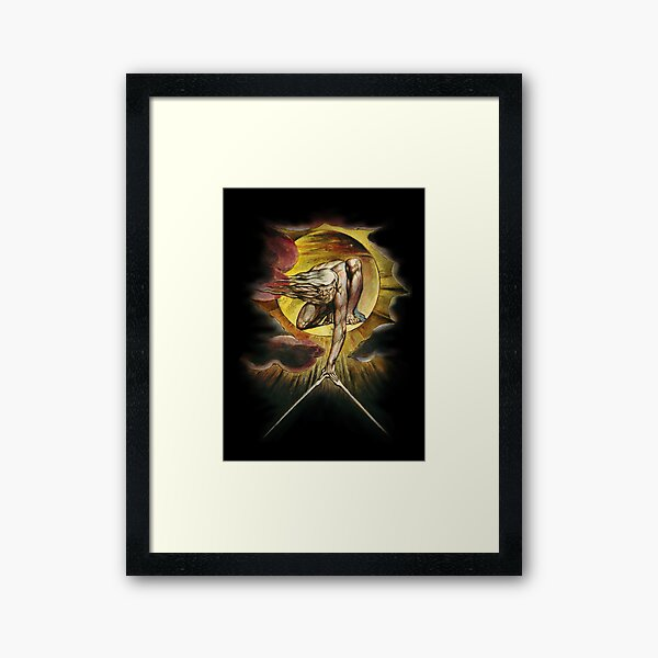 William Blake: The Ancient of Days Framed Art Print