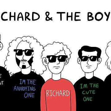 Richard and the Boysz by minty-fresh15