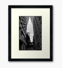 Transamerica Pyamid - San Francisco USA Framed Print
