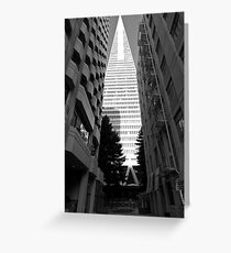 Transamerica Pyamid - San Francisco USA Greeting Card