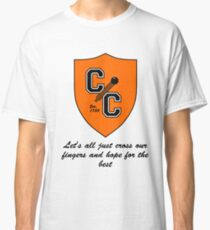 Chudley Cannons Logo with Motto Classic T-Shirt
