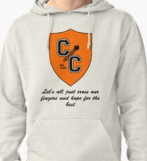 Chudley Cannons Logo with Motto Pullover Hoodie