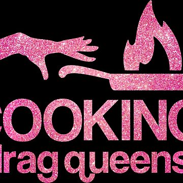 Cooking with Drag Queens - Faux Pink Glitter by feastoffun
