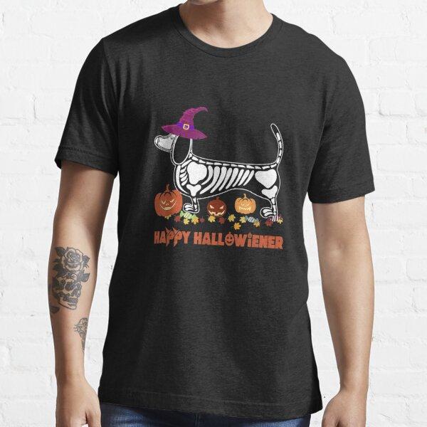 Happy Halloweiner Dachshund Halloween Costume Gifts Essential T-Shirt