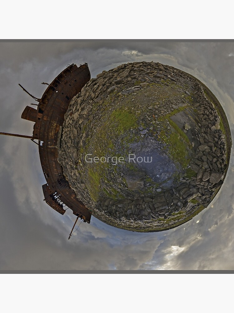 The Plassey Wreck,  Inisheer by VeryIreland