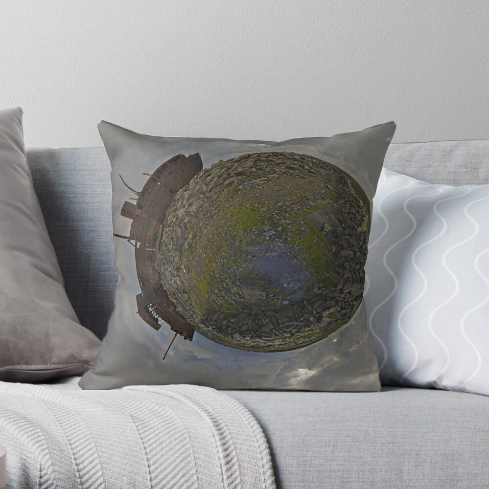 The Plassey Wreck,  Inisheer Throw Pillow