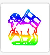 Rainbow United Moravian Sticker