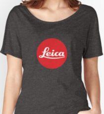 Leica Logo Women's Relaxed Fit T-Shirt