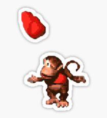 Donkey Kong Country  - Wink Sticker