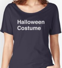 Halloween Costume Women's Relaxed Fit T-Shirt